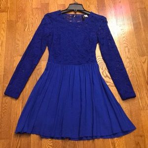 New condition blue dress